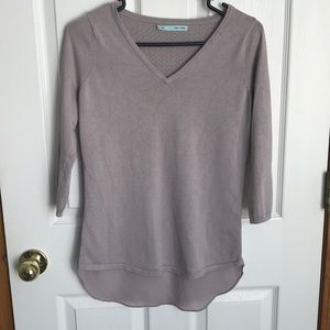 Maurices three quarter blouse with tank top